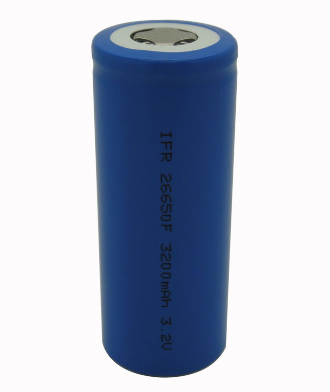 Cylindrical Lithium LiFePO4 Battery 3200mAh 3.2V For Scooter UL Rohs